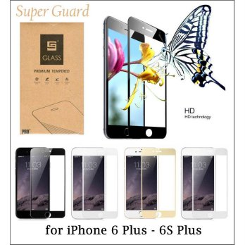 Super Guard Full Tempered Glass iPhone 6 Plus - 6S Plus
