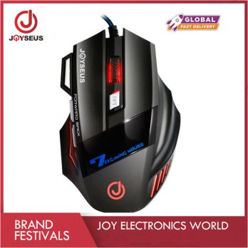 RGB Professional Gaming Mouse JOYSEUS 3200DPI LED USB Wired - MS0007