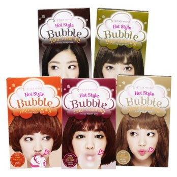 ETUDE HOUSE Hot Style Bubble Hair Coloring #Cat Rambut Foam