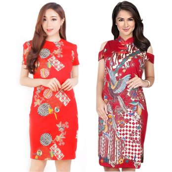 Batik Dress/ High Quality Batik - PARTY DRESS FESTIVAL PREMIUM