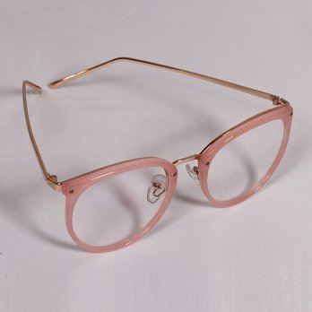 Jolie Frame Soft Peach Sunglasses