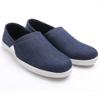 Dr.Kevin Mens Casual Slip-On Shoes 13263 Navy