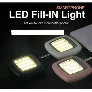 Lampu Flash selfie Led / Selfie light fill in smartphone