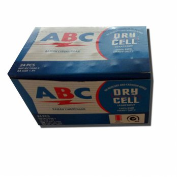 Baterai ABC Dry Cell AA/A2 isi 24pcs