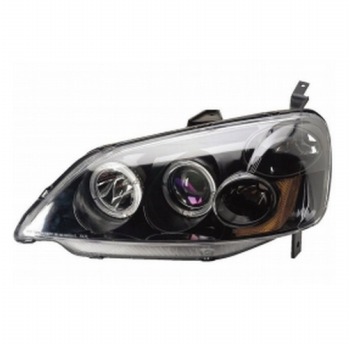 HD411-B1BHA - HEAD LAMP - BLACK ION PROJECTOR - HONDA CIVIC 01-03