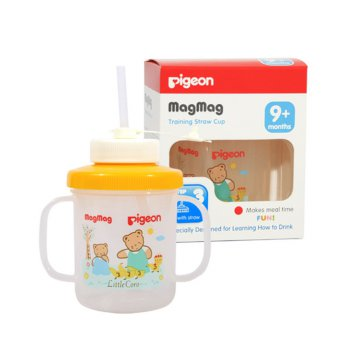 PIGEON MagMag Step 3 Straw Cup | Baby Straw Cup | Mag-mag 3