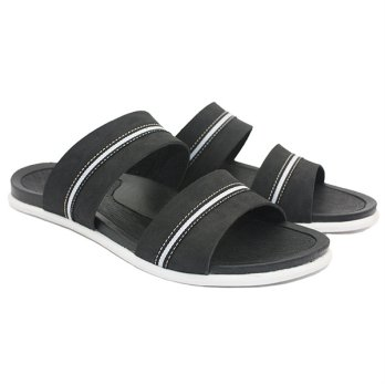 Dr.Kevin Men Sandals 17220 Black
