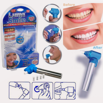 Pemutih gigi Luma Smile teeth polish whitener SJ0054