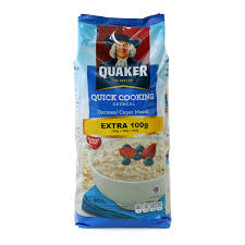 Quaker Quick Cooking Oatmeal - 800Gr