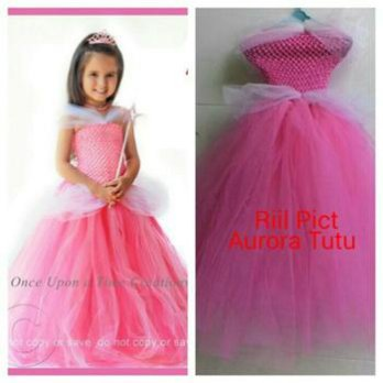 Baju Dress Anak-Tutu Dress Inspired Princess Aurora