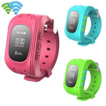 Anti-lost Children Smart Watch GPS Positioning Bluetooth Wrist Watch For Android