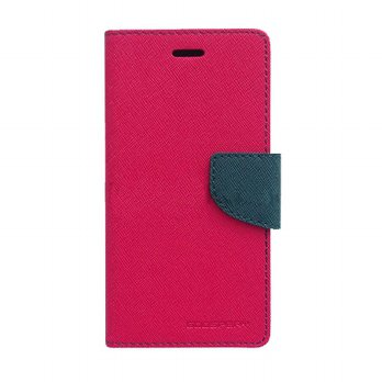 Mercury Fancy Diary Iphone 4S - Magenta/Biru Laut