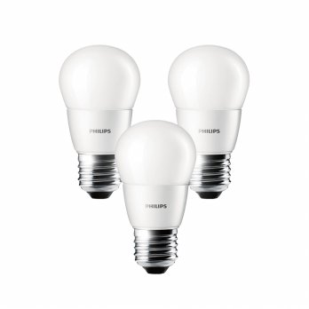 PHILIPS LED Bulb 4W - 3pcs