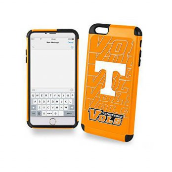 [holiczone] Forever Collectibles NCAA Tennessee Volunteers TPU Dual Hybrid Iphone 6 Plus C/197957