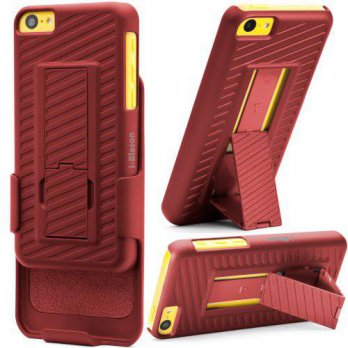 [holiczone] I-Blason i-BLASON Apple iPhone 5C Transformer Hard Shell Case Holster Combo wi/203524