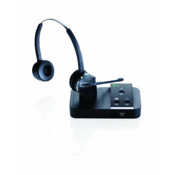 [holiczone] Jabra PRO 9450 Duo Flex-Boom Wireless Headset for Deskphone & Softphone/213199