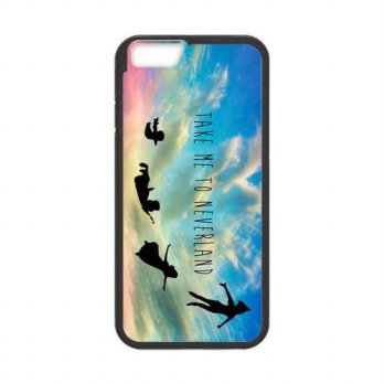 [holiczone] Dolphin Case Cover for Personalized Case for Personalized iPhone 6 (Laser Tech/216374