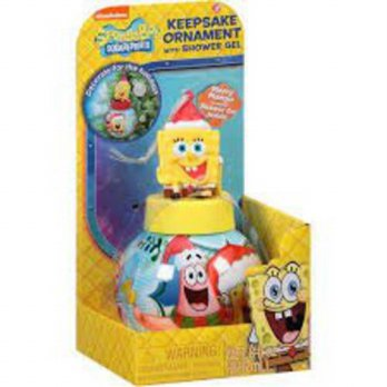 [holiczone] Nickelodeon SpongeBob Keepsake Ornament with Shower Gel/216658
