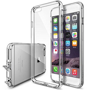 [holiczone] iPhone 6s Plus Case, Ringke [Fusion] Clear PC Back TPU Bumper w/ Screen Protec/215120