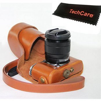 [worldbuyer] TechCare Ever Ready Protective Leather Camera Case Bag for Fujifilm X-A2, Fuj/4233427