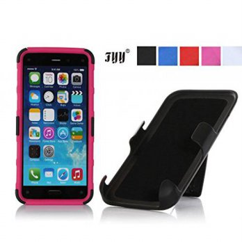 [holiczone] iPhone 6 Case, FYY Detachable Rotating Dual Layer Holster Case with Kickstand /220116
