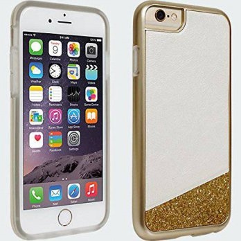 [holiczone] Milk & Honey Protective Cover Case For iPhone 6 (Gold Glitter)/222590