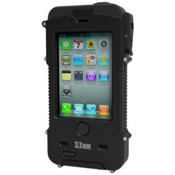 [holiczone] Snow Lizard SLXtreme Case for iPhone 4 and 4S, Black Night/219815
