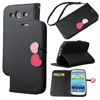 [holiczone] AILUN Galaxy S3 Case,Case for Samsung Galaxy S3/i9300,By Ailun,Wallet Case,PU /229677