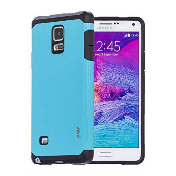 [holiczone] Galaxy Note 4 Armor Case, JOTO Dual Layer Samsung Galaxy Note 4 Case Protectiv/230865