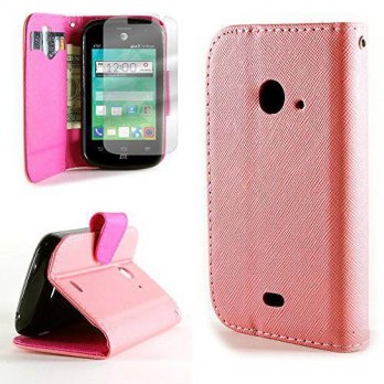 [holiczone] ZTE Z667 GoPhone / Zinger / Prelude 2 Wallet Phone Case and Screen Protector |/228557