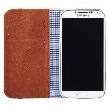 [holiczone] Toffee Flip Wallet for Samsung Galaxy S4 (Tan)/229711