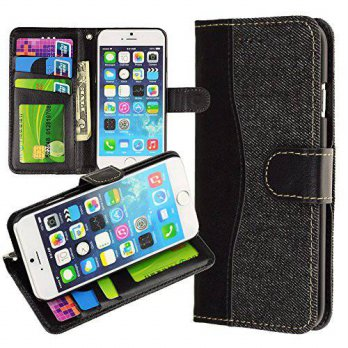 [holiczone] ECCRIS For iPhone 6 4.7 Case , Wallet Stand Case Cover for iPhone 6 4.7 inch w/179879