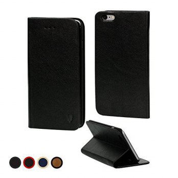 [holiczone] MediaDevil Apple iPhone 6/6S Leather Case (Black) - Artisancover Genuine Europ/185536