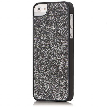 [holiczone] Versio Mobile VM-20257 Glitter Case for iPhone 5 - Black/197661