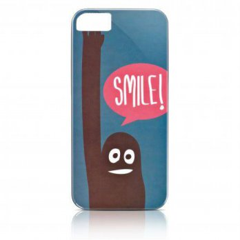 [holiczone] Gear4 IC517G Show Case for iPhone 5 - Retail Packaging - Smile/200444