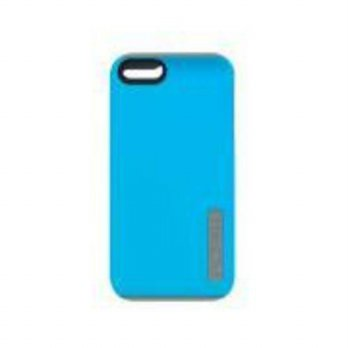 [holiczone] Incipio DualPro Case for iPhone 5S - Retail Packaging - Cyan/Gray/202255