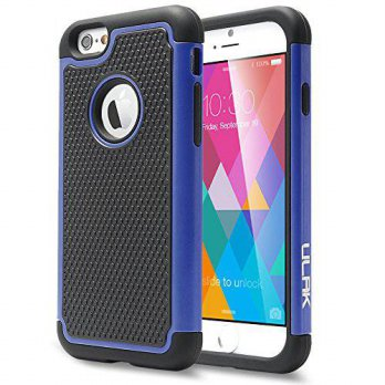 [holiczone] iPhone 6S Case, ULAK iPhone 6 / 6S (4.7 INCH) Case Shock Absorbing Hybrid Rugg/203175