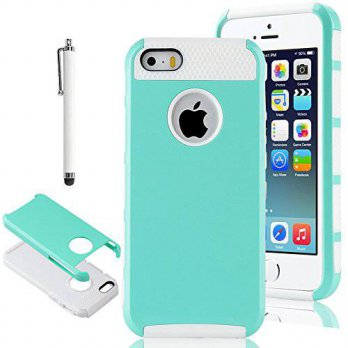 [holiczone] iPhone 5S Case, iPhone 5 Case,iPhone SE Case,ULAK Slim Fit Protection Case Sho/213087