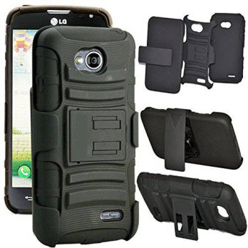 [holiczone] Alcatel One Touch Fierce 2 7040T Case, Digital4all(TM) Rugged Heavy Duty Case /201180