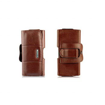 [holiczone] Kingsource (TM) Apple iPhone 5/5c/5s genuine Leather Holster Case Pouch with F/211547