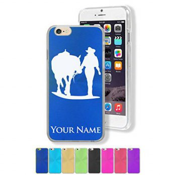 [holiczone] SkunkWerkz Personalized Case for Apple iPhone 6/6S (4.7) - COWGIRL WALKING WIT/213444