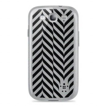 [holiczone] Belkin Grip Weave Case / Cover for Samsung Galaxy S3 / S III (Silver)/219619
