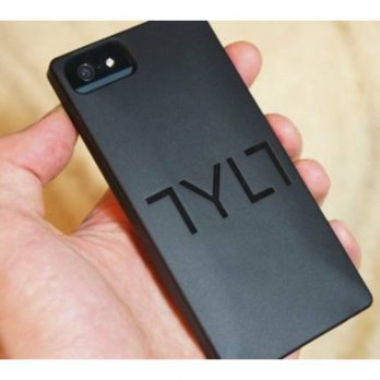 [holiczone] Tylt IP5SSSQRDBK-T SQRD Protective Case for iPhone 5 - Retail Packaging - Blac/222093