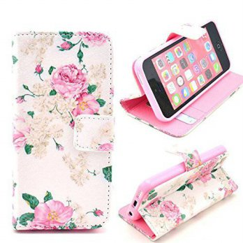 [holiczone] iPhone 5 Wallet Case,iPhone 5 leather,iPhone 5 Phone Case,Kaseberry iPhone 5 W/222797
