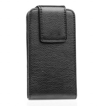 [holiczone] Gencase For Samsung Galaxy Note 4 Pu Leather Hard Belt Clip Protective Pouch B/231612