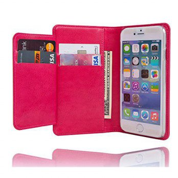 [holiczone] I-Remember iphone 6 Plus Case [Wallet] Premium Slim Wallet Case [Double Pocket/119580