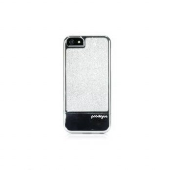 [holiczone] Prodigee 2 piece, Protective and Sparkling FUSION Case, iPhone 5 - SILVER/233359
