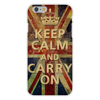 [holiczone] Hat Shark Apple iPhone 6+ (Plus) Custom Case White Plastic Snap On - Keep Calm/117899