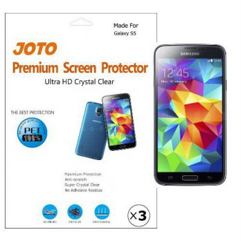 [holiczone] JOTO - Samsung Galaxy S5 Premium Screen Protector Film Ultra Crystal Clear (In/118351