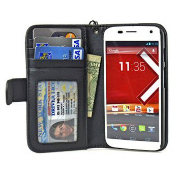 [holiczone] Motorola Moto X (First Generation) Folio PU Leather Wallet Case with Money Poc/119523
